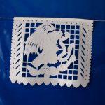 Papel Picado con Escudo Nacional