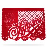 Papel Picado Con Logotipo Superior