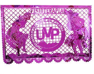 Papel picado logo UVP