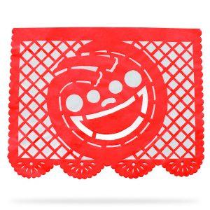 Tiras de Papel Picado con Logotipo