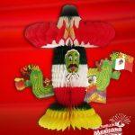 Cactus Mexicano de Papel Picado