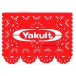 Papel Picado Con Logotipo Yakult