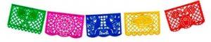 Banderines Decoración Mexicana