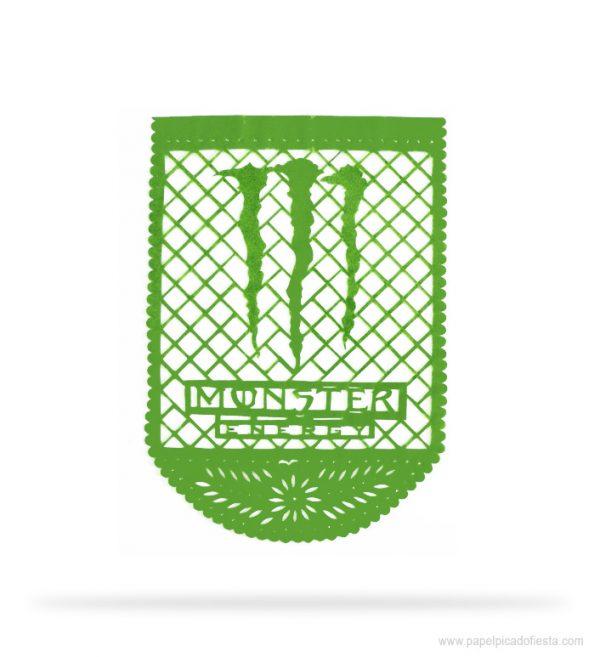 Papel Picado con Logo Personalizado